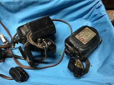 Lot Of 2 Genuine SINGER Sewing Machine Motor Ms For 201 Or Other?