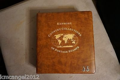 Kenmore Foreign World Postage Stamp Collection Album Collection