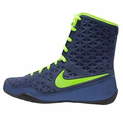 Nike KO Boxing Shoe - Navy/Green