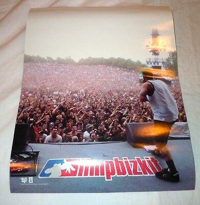 LIMP BIZKIT~Promo Poster~8x11~Fred Durst~Excellent Condition