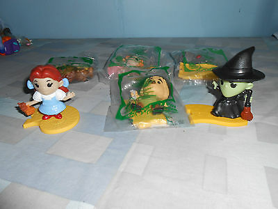 2013 Wizard of Oz McDonalds 75th Anniversary 6 Toys Complete Set