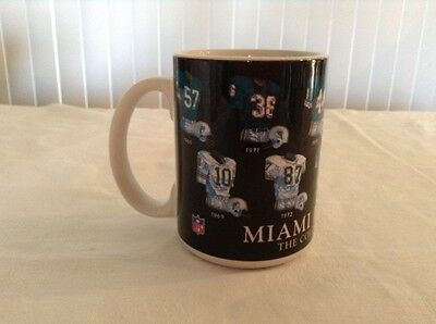 """NFL Miami Dolphins Officially Licensed """"The Color Of Football"""" Coffee Mug"""