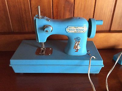 Toy Holly Hobbie Sewing Machine 1970's Vintage COllectable