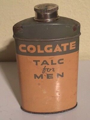 Colgate Talc For Men From the 1930's