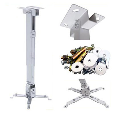 Adjustable Tilt Universal LED/DLP/LCD Projector Bracket Ceiling Wall Stand New
