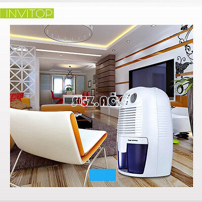 Dehumidifier Quiet Electric Home Drying Moisture Absorber Air Home CE 500ml New