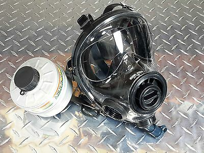 40mm NATO SGE Infinity 400/3 Gas Mask - New/Sealed NBC/CBRN filter /// Exp 2021