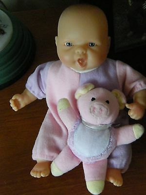 """Berenguer Baby Doll- 8"""" Tall,  Very Good Cond."""
