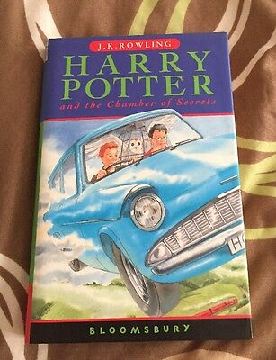 Harry Potter And The Chamber Of Secrets First Edition 26th Print Hardcover Uk