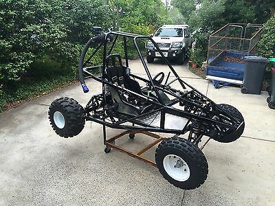 "Sidewinder Buggy rolling chassis (no engine)   ""The Edge Products"""