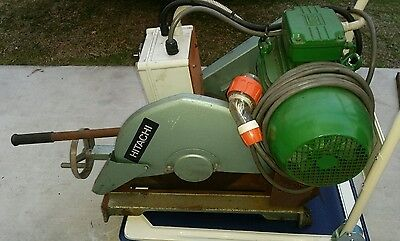 Hitachi Cut Off Saw 3 Phase