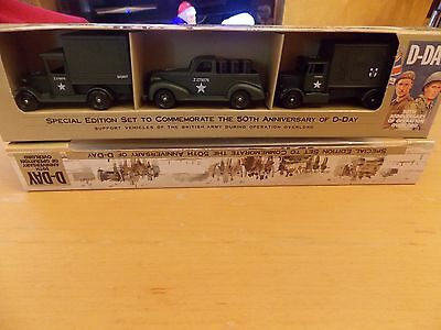Collectable Army Vehicles 50TH Anniversary D-day