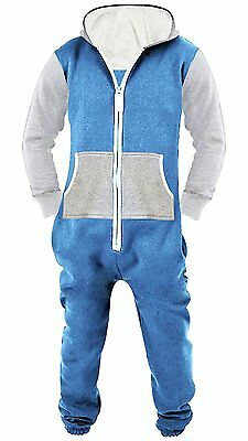 SkylineWears Men's Unisex Onesie Jumpsuit One Piece Non Footed Pajama Playsuit