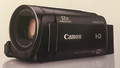 Canon VIXIA HF R70 FULL HD 1080 Camcorder 16GB. Brand New.. Free shipping