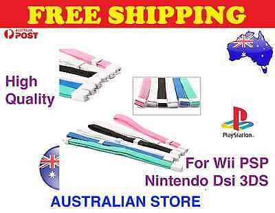 1x ADJUSTABLE WRIST STRAP GREAT FOR WII CONTROL CAMERA MOBILE PHONE PSP 3DS DSi