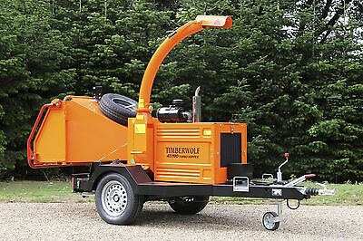Timberwolf 190 & 150 Roadtow Woodchipper For Hire In Cheshire