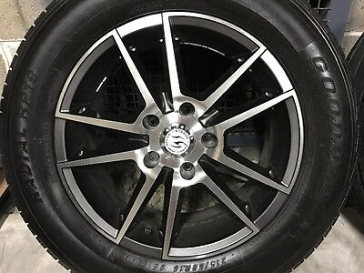 Ford & Toyota ALLOY MAGS WITH TYRES16X6.5 ET 40 5x114