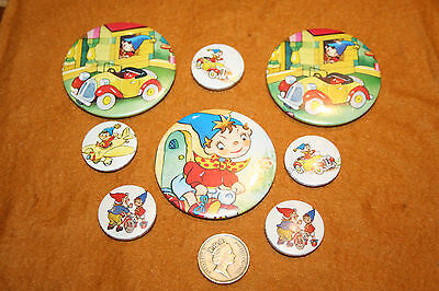 Vintage Noddy And Big Ears,button Badges