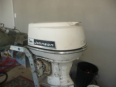 outboard motor johnson 60hp