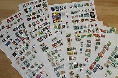 Lote 422 Sellos Usados Used Stamps Usa Desde 1907 Hasta 2011