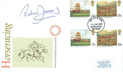 Richard DUNWOODY Signed Autograph First Day Cover Horse Racing FDC COA AFTAL