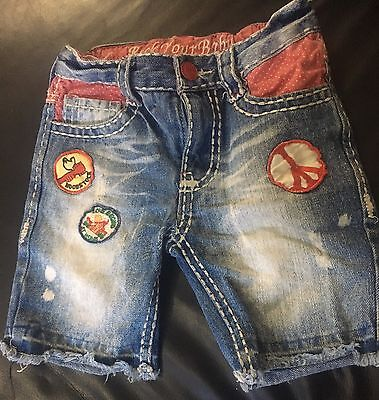 Rock your Baby Girls Shorts Size 6