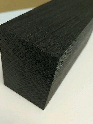 Black bog oak (morta, wood) blanks for pipes 1270-5460 years (with small cracks)