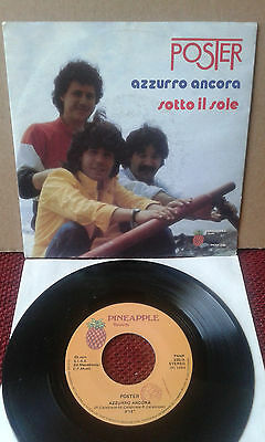 """OBSCURE ITALIAN PROG POP 7"""" POSTER Pineapple PNNP 230 VG++ NO RESERVE!!!!!!!!!!!"""