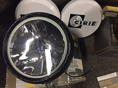 Cibie Oscar SC driving lights. One Driving Beam, One Cornering Beam BRAND NEW