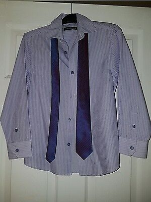 Boys shirt and tie set