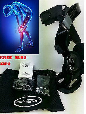 DONJOY FULLFOURCE.Knee Brace LARGE LEFT ACL LIGAMENT Knee Support