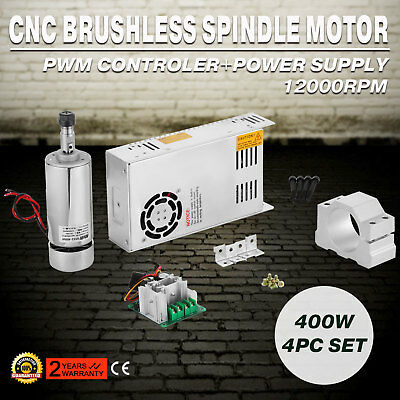 Brushless Spindle Motor&Speed Controller&Mount Engraving Tool Kit