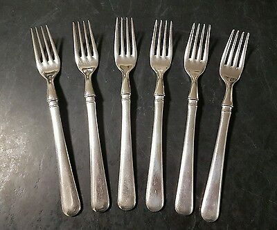Grosvenor Epns A1 Silver Plated Forks 6 Pieces 19Cm