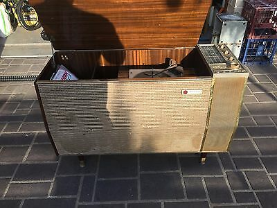Pye Stereophone Record Player Radio Vintage Antique Ts4 Circa 1950