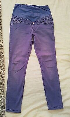 new look maternity skinny jeans size 14