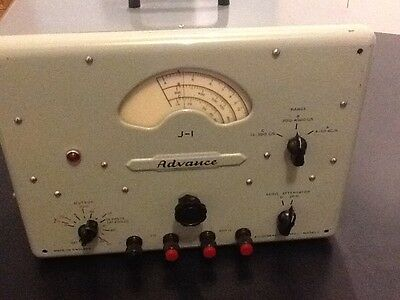 Advance Audio Frequency A.F. Signal generator -valves vacuum tubes