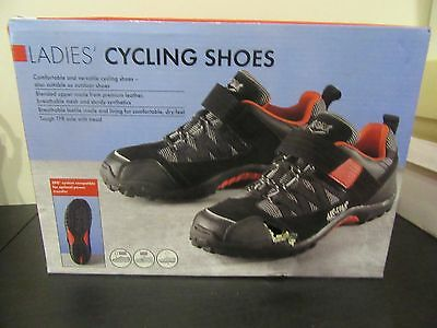 Ladies Cycling Shoes - Size 6 - Excellent Condition.