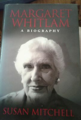 Book Margaret Whitlam a Biography by Susan Mitchell Hard Cover