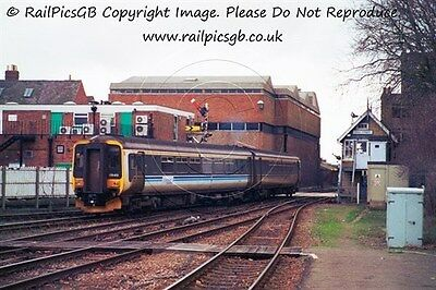 Colour Photo of Central Trains Class 156 DMU 156413 at Lincoln 2002