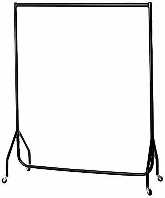 Junior Heavy Duty Clothes Rail - All Black, 3ft Wide