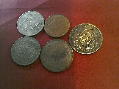 Small asst collection Channel Islands coins