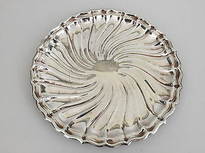 vintage Gorham silver plated serving tray YC 1883