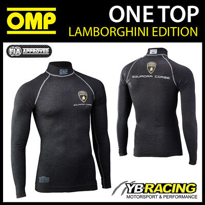 Iaa/739E Omp Lamborghini One Long Sleeve Top Fia Approved Fireproof Ultra-Light