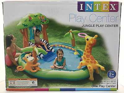 Intex Mermaid Play Center Pool Inflatable Above Ground Swimming Wading Pool