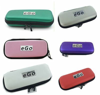 PU Leather Zip Case Cover For e-Go EVOD Shisha Pen Charger CE4 MT3 Juice
