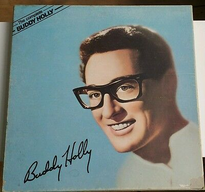 """The Complete Buddy Holly Uk 1979 6 X 12""""  Lp Mca Records"""