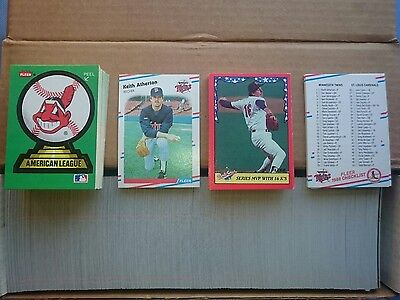American Baseball Cards,1988.(Complete Set In Factory Box,Great Gift Idea).��.