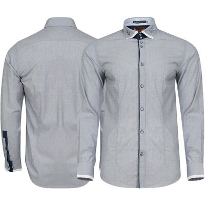 New Mens Tokyo Laundry Pacino Long Sleeved Collared Button Shirt Top Size S-XXL