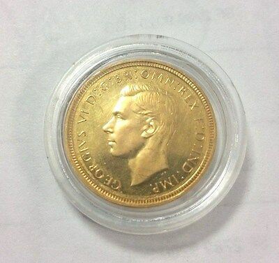 1937 Full Sovereign - George VI - good condition