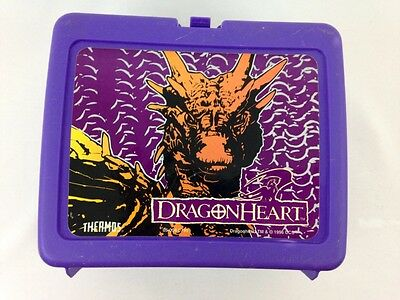 Dragonheart Thermos Brand Purple Lunchbox (1996)